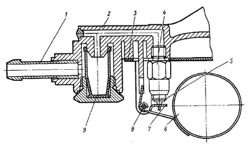 Поплавковый механизм
