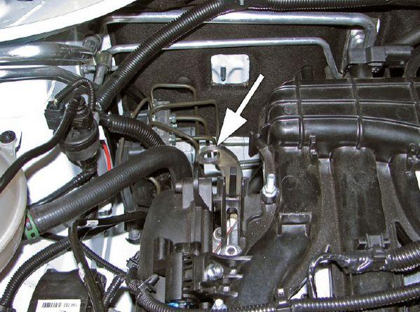 Рым подвески силового агрегата на двигателе