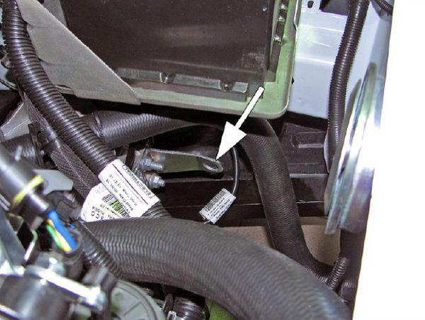Рым подвески силового агрегата на коробке передач