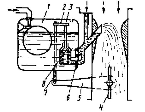 Схема экономайзера с механическим приводом