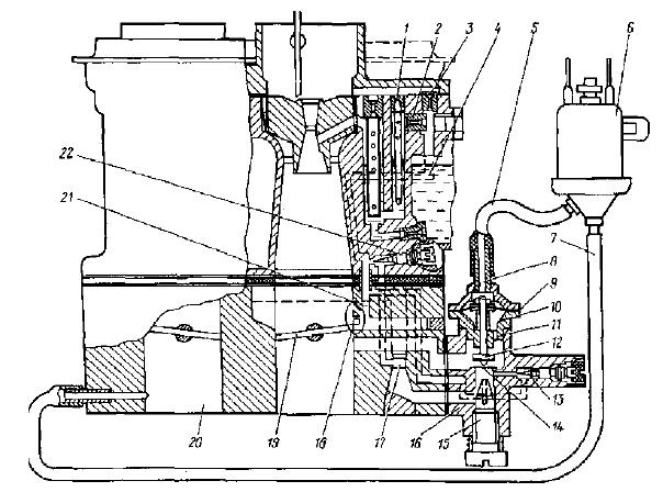 Система холостого хода карбюратора К-151